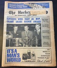THE HOCKEY NEWS MAY 3,1969,Vol.22,#30,Espo Wins Hart,Bobby Orr Norris Winner