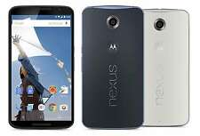"MOTOROLA NEXUS 6 XT1103 Unlocked 32gb Quad Core 13mp 5.96"" Android 4g Smartphone"