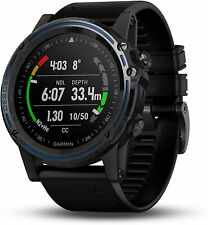 New Garmin Descent MK1 GPS Dive Smartwatch Sapphire Titanium Black Band + More