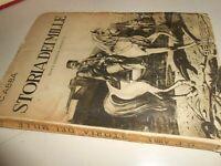 LIBRO: STORIA DEI MILLE - G.C.ABBA - BEMPORAD 1937