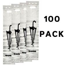 Alpine Industries White Universal 100 PK Umbrella Bags 29 inch Wet Umbrella Bag