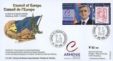 "CE64-IVA FDC Conseil Europe ""Visite M. SARKISSIAN, Président Arménie"" 10-2013"