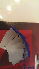 4 x Filling stripping scraper knife set, flexible stainless steel (Kubala)
