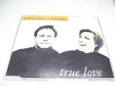 ELTON JOHN & KIKI DEE - TRUE LOVE  4tr, CD MAXI UK 1993