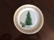 Lenox Limited Christmas 1976 Commemorative Issue Douglas Fir Plate 10""