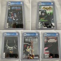 (Lot Of 5) Dark Nights: Metal #2 Batman Who Laughs #1-3 Grim Knight 1 DC CGC 9.8