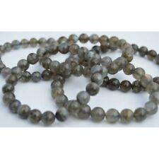Bracelet Labradorite -  perles rondes 8mm - Qualité Extra