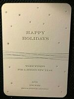 TOM CRUISE INSANELY RARE ORIG. HOLIDAY CARD SENT WITH THEN WIFE KATIE HOLMES!!!!