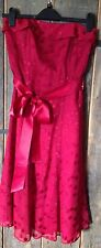 Stunning Debut Red Dress Size 8 Prom Dress