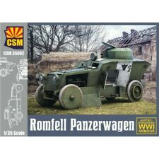 Romfell Armoured Car WW I - 1:35 Copper State Models #35002