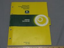 Vintage John Deere Parts Catalog PC-1565 1979 Weed Eater Trimmers Edgers 64 page