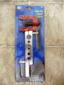 """New Tool Cache Flaring Tool #51688 3/16"""" 1/4"""" 5/16"""" 3/8"""" 1/2"""" 5/8"""" Unopened Pkg"""