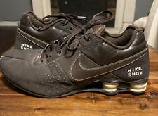 Nike Shox Brown Leather Running Sneaker Men's 11.5