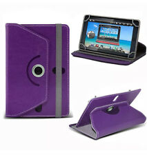 Universal 360 Rotatable Leather Stand Case Cover For 8Inch Tab Android Tablet PC