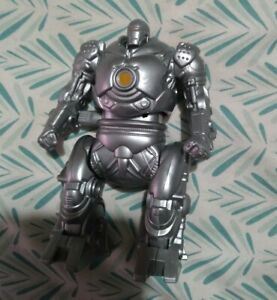 Burger King Toy Iron Man Monger Wind Up Silver Robot Marvel 2007 SB40