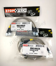 FRONT+REAR STAINLESS STEEL BRAKE LINE KIT FOR 08-13 TOYOTA SEQUOIA - STOPTECH
