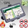 "5 "" Car GPS Navigation Sat Nav Navigator SpeedCam FM 8GB US UK EU AU Free Map"