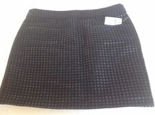 Women's Black Mini Skirt Gap Size 2 Cotton Blend