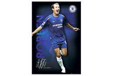 Vintage Original ARJEN ROBBEN Chelsea FC Official EPL Action POSTER (2005)