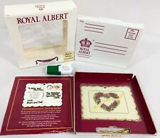 Royal Albert Old Country Roses 1st Christmas Together 2001 Ornament Mailer Box