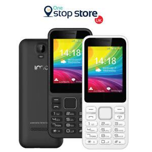 IMO Dash 3G Verve Connect Unlocked Free SIM Basic Big BUtton Mobile Phone
