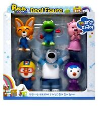 PORORO Real Figure Set TV Animation Character Non-toxic For Baby&Kids 6p