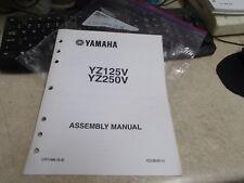 OEM Yamaha Assembly Manual 2005 YZ125V YZ250V LIT-11666-19-35
