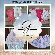 Baby Girl 3-6 Months Clothes Collection #1