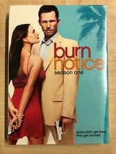 Burn Notice - Season 1 (DVD, 2009 - NEW19