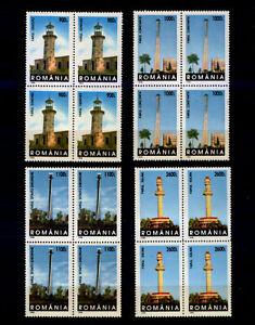 Rumänien 5373-76 ** Leuchttürme (VB, 1998)