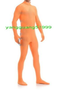 Men Body Suit Costumes New 23 Color Lycra Spandex Catsuit Costumes No Head F272