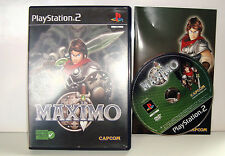 JEU SONY PLAYSTATION 2 PS2 - MAXIMO COMPLET CAPCOM PAL FR