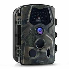 Victure 1080P Full HD Wildlife Trail Camera Trap 12MP Infrared Cam with Night Vi