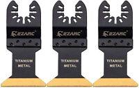 EZARC Titanium Oscillating Multitool Blade for Wood, Metal and Hard Material