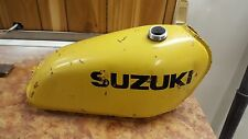 Suzuki RM100 RM125 RM 100 125 gas fuel petrol tank alloy 76 77 1976 1977 OEM 280
