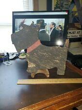 Vintage 1940s Wooden pRiMiTiVe Scottie Dog Yard Art