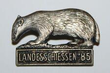 Nadel, Landesschiessen  Schiessen 1985 DACHS Jagd Jäger Abzeichen #A267