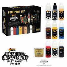 Warlord Games Core Paint Set 10 Ejército Colores Acrílico Quickshade