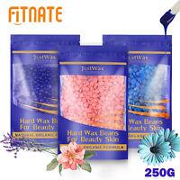 Hair Removal Hard Wax Beans Natural Painless Full Body Depilatory Wax Beads 250g