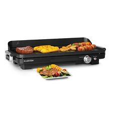 Klarstein Charleroi Turbo Grill de table électrique 2000W DuoGrill Concept noir