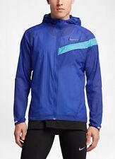 Nike Mens Impossibly Light Running, Training Jacket, Medium-Navy ZIP POCKETS