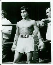 1976 Guty Espadas WBA Flyweight Champion Boxer Original News Service Photo