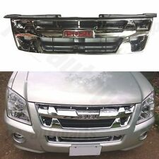 ISUZU DMAX RODEO FRONT CHROME ABS GRILL GRILLE FOR D-MAX 07 08 09 10 2011 PICKUP