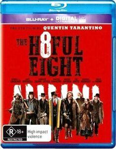 THE HATEFUL EIGHT New Blu-Ray KURT RUSSELL SAMUL L JACKSON ***