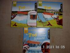 3 Krimi Hörbücher MP3 Susanne Hanika sehr gut