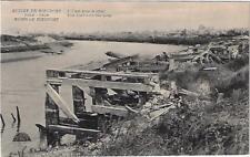 Nieuwpoort Nieuport 1914-1918 Ruines L'Yser avec le Quai