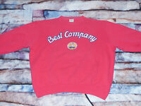 *BEST COMPANY CASUAL PULLOVER*FORT LAUDERDALE YACHT*PINK*RETRO*GR: XL*TIP TOP