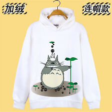 Anime Hoodie Pullover Jacket ,Totoro,Unisex Plus velvet Thicken Cotton Costume