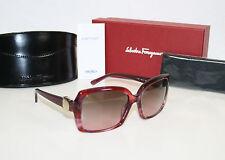Salvatore Ferragamo gafas de Sol fe 2199 759/14 a rayas rojo PVP