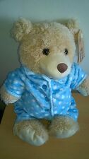 Tesco Cuddle me Friends Teddy Bear Dress Up Friends Plush Comforter Soft Hug Toy